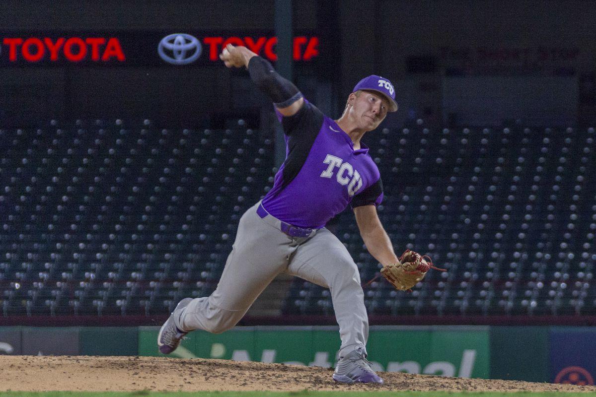 TCU Baseball vs Rangers Futures Team   Globe Life Park   Arlington, TX (10.1.19)