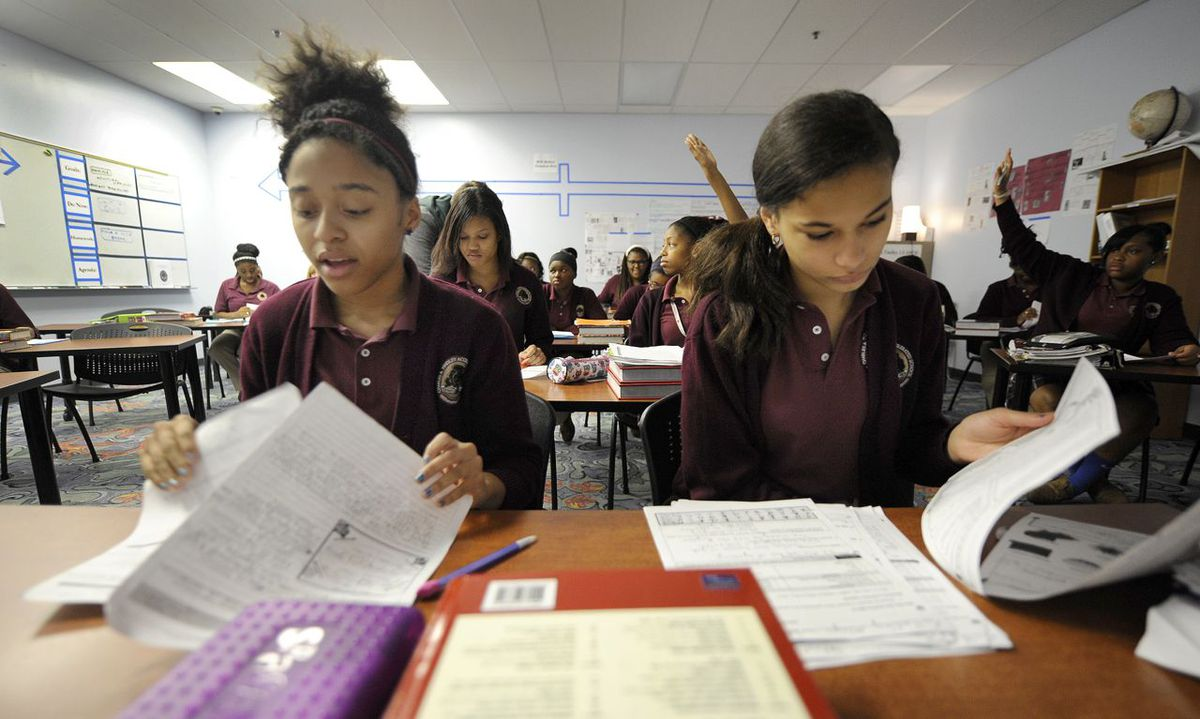 Tindley Accelerated Schools now has a girls-only middle school that was the top scoring Indianapolis charter school on ISTEP.
