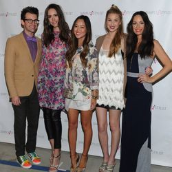 Fashion Panelists Brad Goreski, Louise Roe, Aimee Song and Whitney Port with Host Catt Sadler