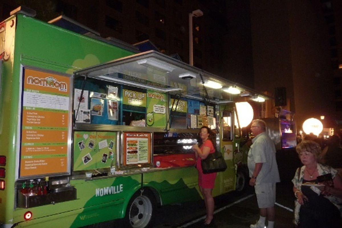 Nom Nom Truck takes Vegas at Uncork'd by Bon Appetit 2012.