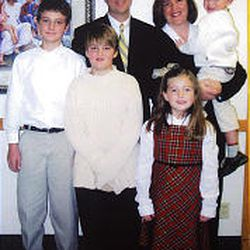 The Williams family, clockwise from left, Michael, 14; Christopher; Michelle; Sam, 6; Anna, 9; and Ben, 11. Michelle, Anna and Ben died in the crash on 2000 East near 2700 South. Michael was not in the car. Sam is in stable condition with broken bones. Counselors were at Highland Park Elementary School Monday to help both teachers and classmates of Anna and Ben deal with the tragedy. The teen driver involved in the crash could be charged Wednesday.
