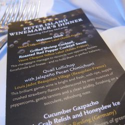 Peter Island Winemaker's Dinner, Featuring Chef Jay McCarthy