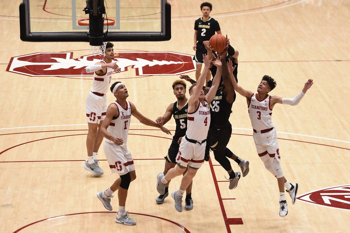 COLLEGE BASKETBALL: MAR 01 Colorado at Stanford