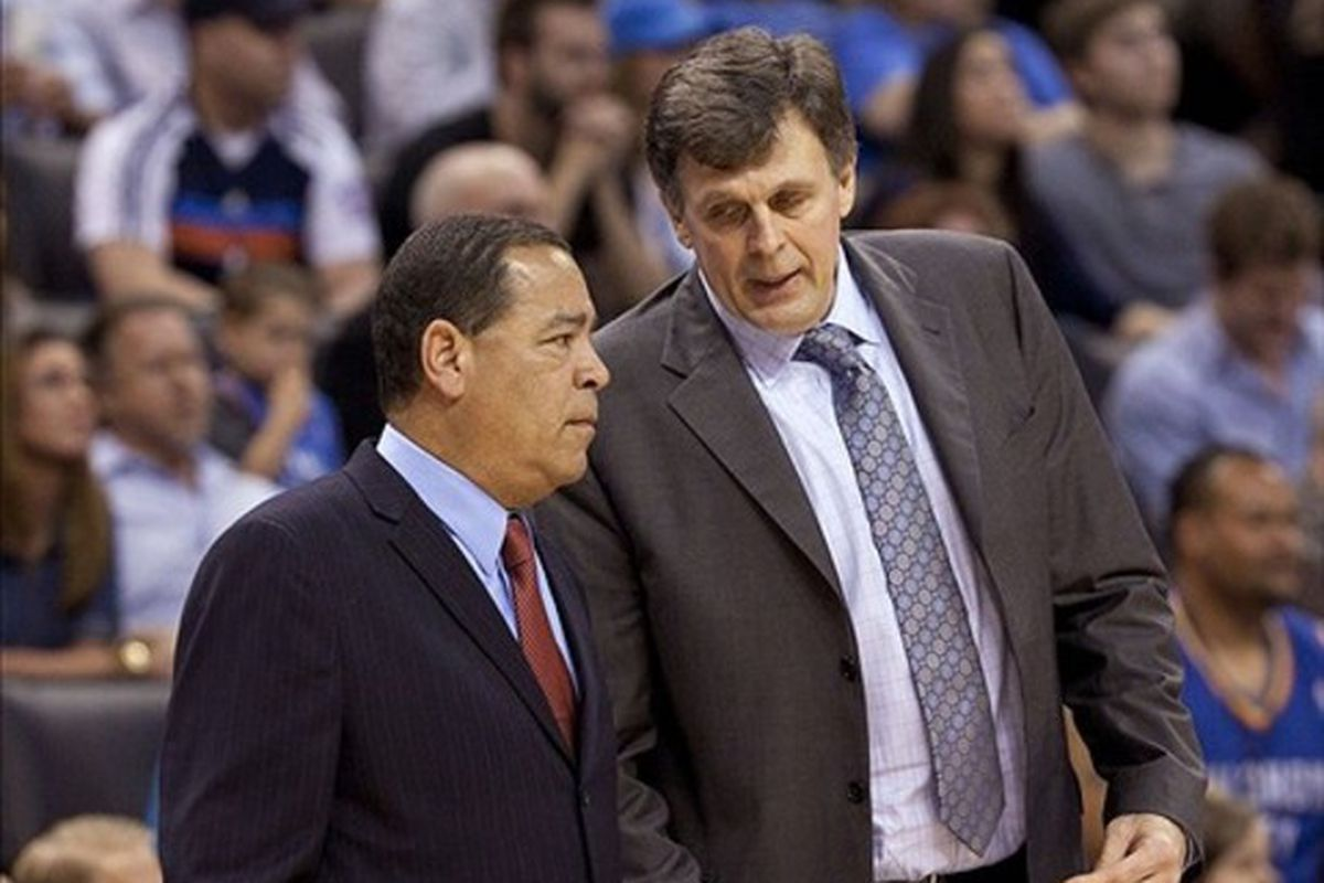 Kelvin Sampson might not be able to fill Kevin McHale's shoes literally....but he can do it figuratively!