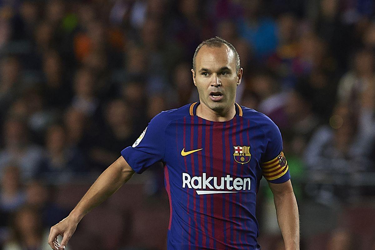 Barcelona confirm Andres Iniesta injury Barca Blaugranes
