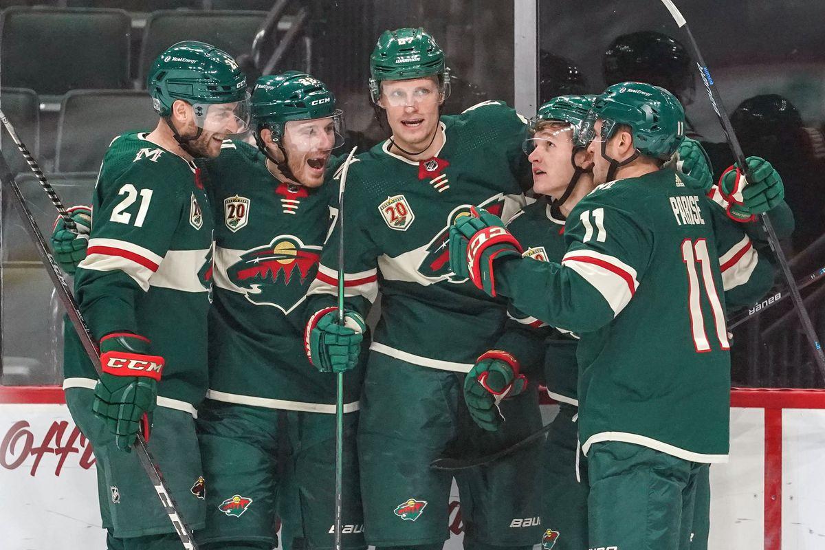 NHL: JAN 24 Sharks at Wild