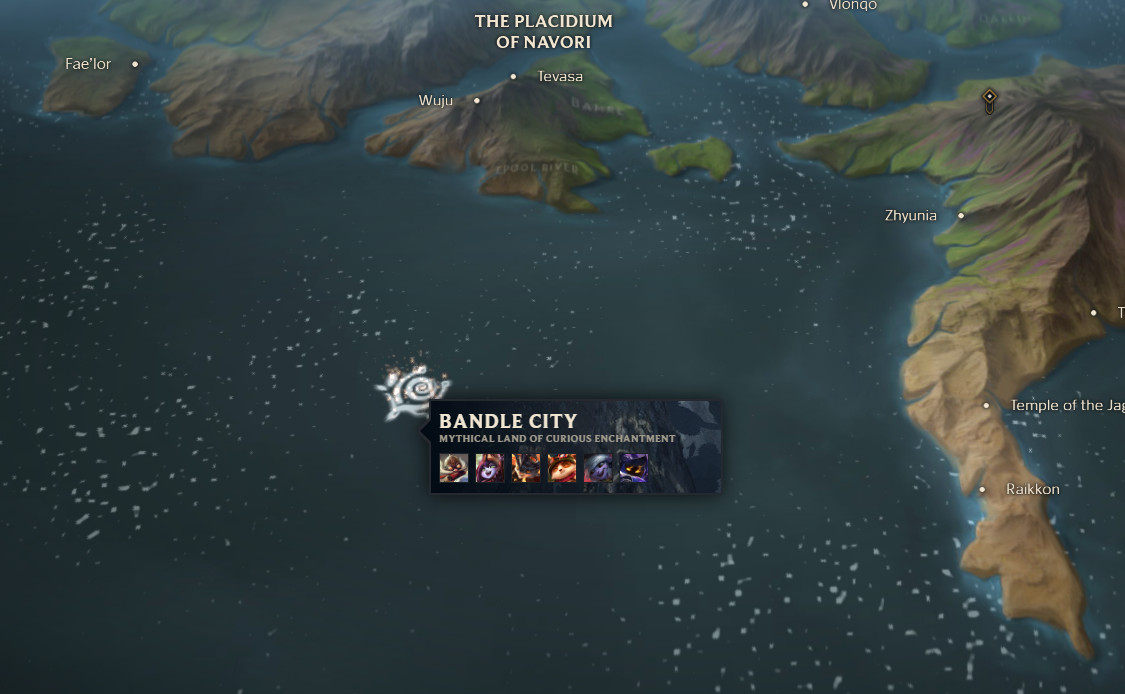 Check out this detailed and interactive map of Runeterra - The Rift ...