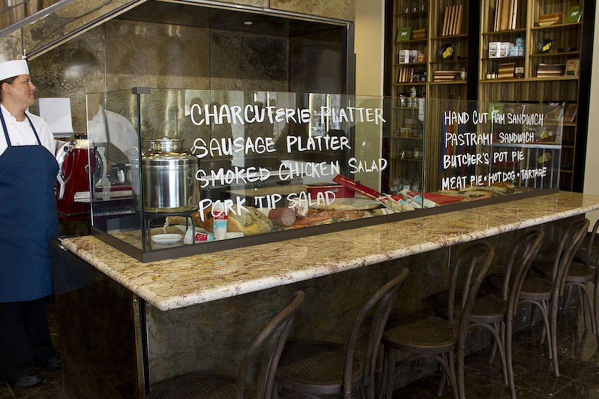 The Echo & Rig butcher bar