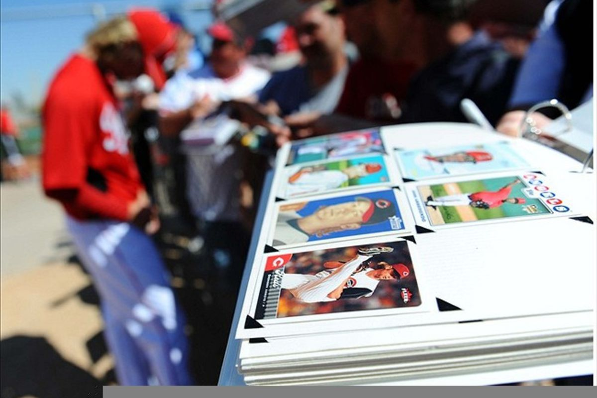Baseball cards!  Recognize any of them?