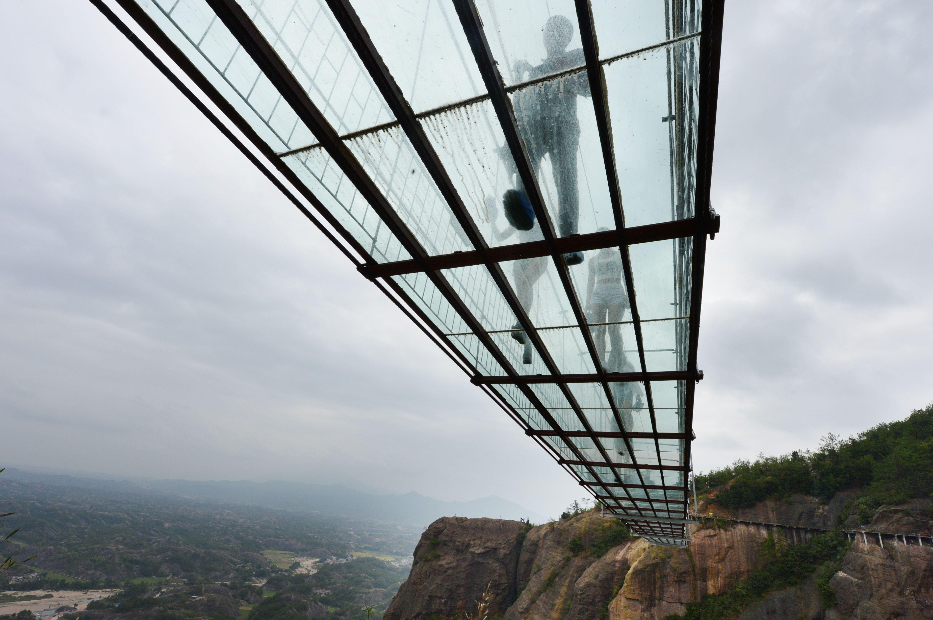 China glass bridge Getty