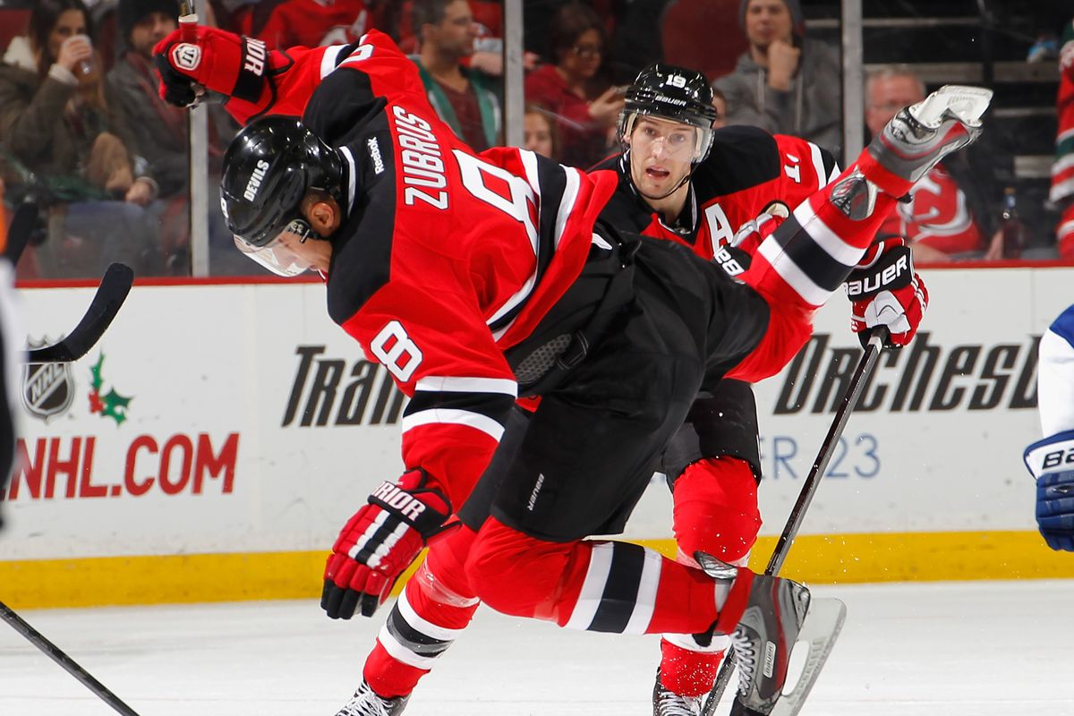 An interesting view of 2/3 of the Devils top line