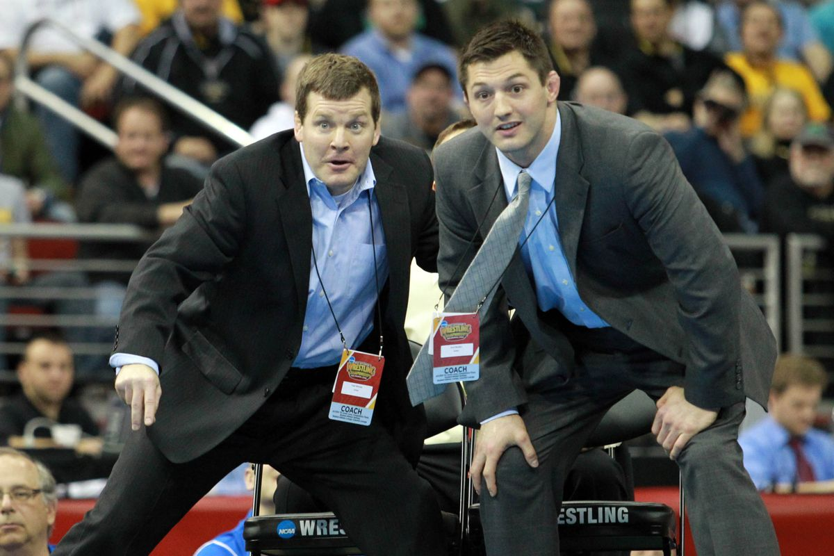 """""""A top 5 Illini team is coming to Carver-Hawkeye?"""" - Tom Brands"""