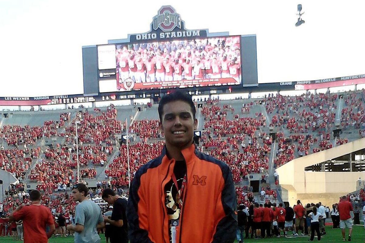 Clark on a visit to Ohio State this fall.