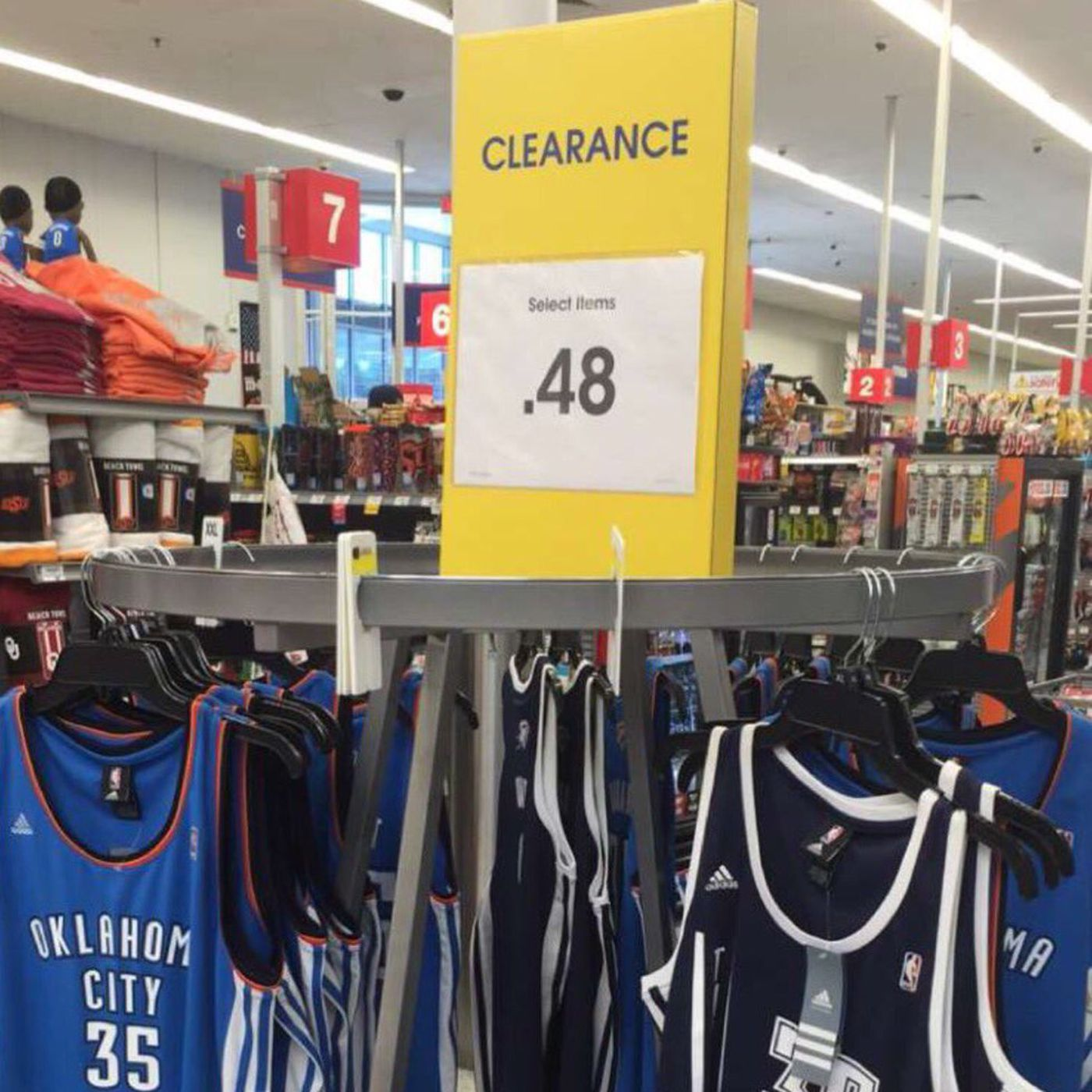 promo code 2e835 df90d An Oklahoma City store sold Kevin Durant's Thunder jerseys ...