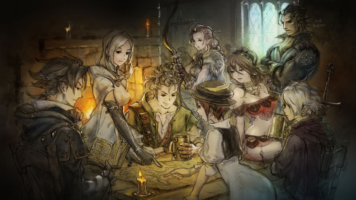 Octopath Traveler Review The Nintendo Switch Gets A Jrpg For 3 Way No Is Magical Rpg Needed