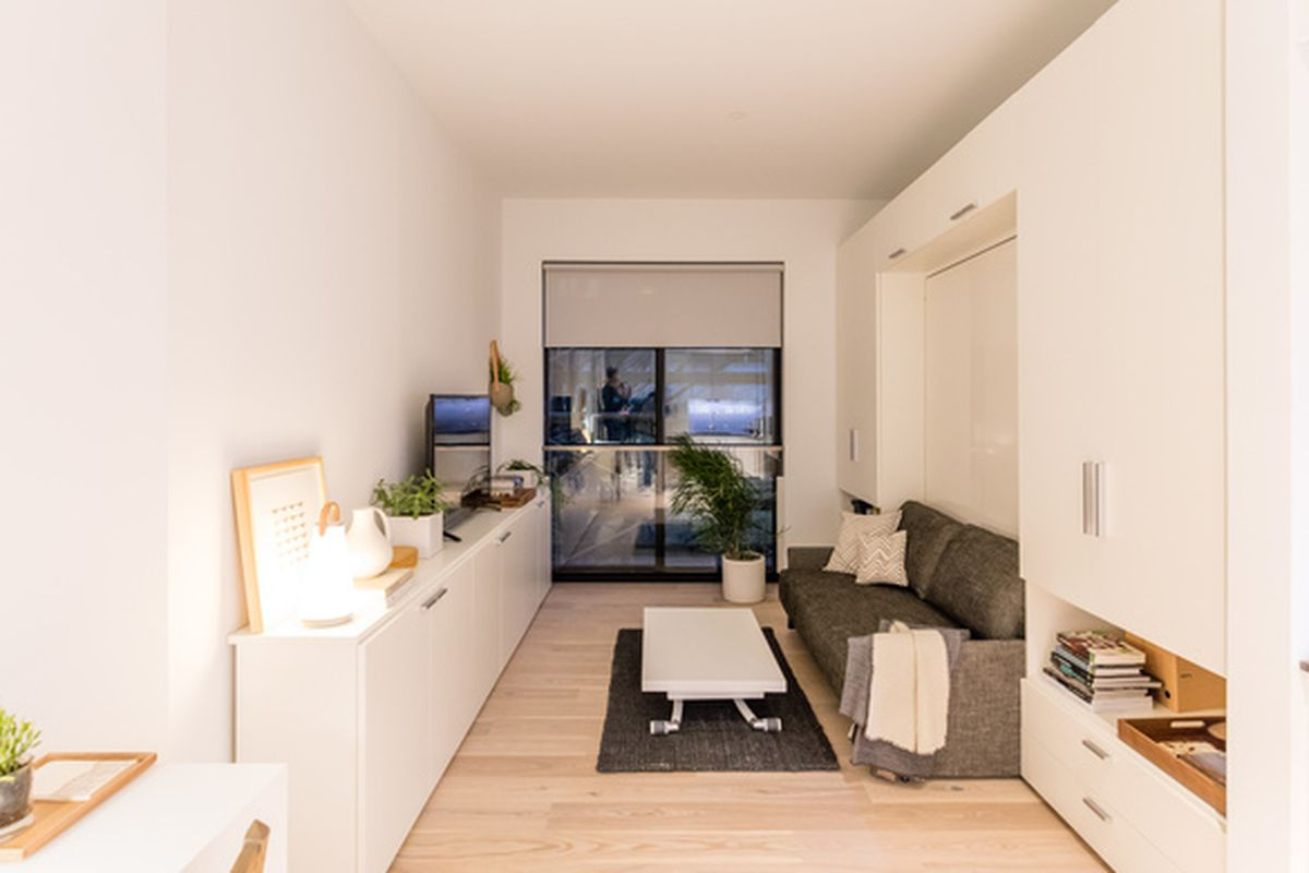 9 new york city micro apartments that bolster the tiny - Affordable interior design seattle ...