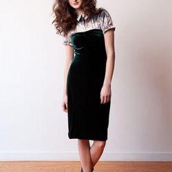 The Velvet Stem Dress by EM Reservoir