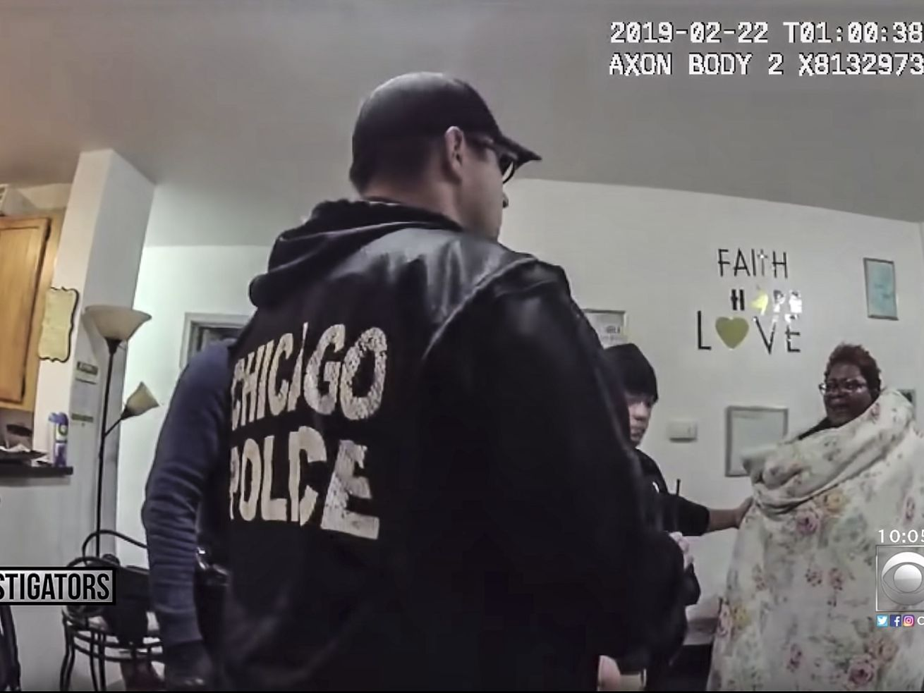 Police body camera video shows the raid on the home of Anjanette Young.