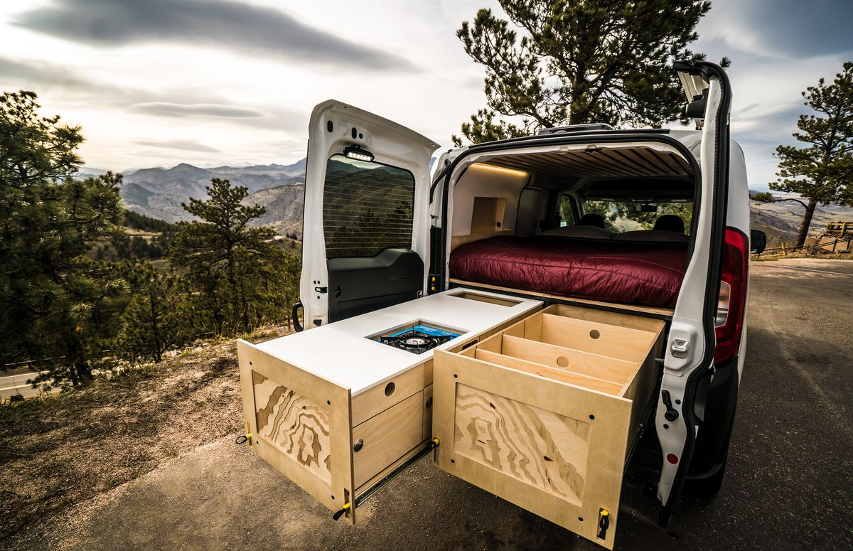 Diy Camper Van 5 Affordable Conversion Kits You Can Buy Now Curbed Homemade Fuse Box Contravans
