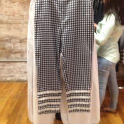 Chloe Sevigny x Opening Ceremony flannel pants, $85