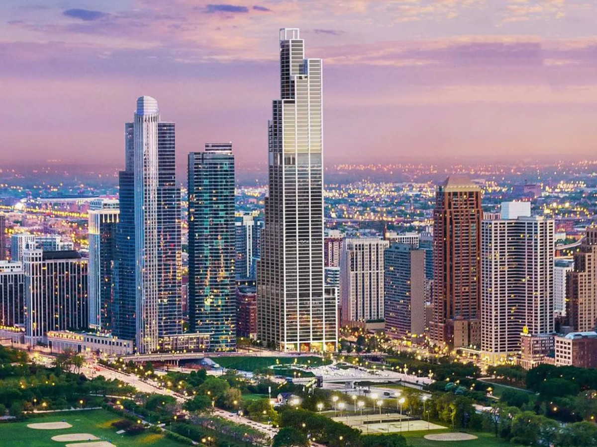 Chicago S 54 High Rises Under Construction Mapped