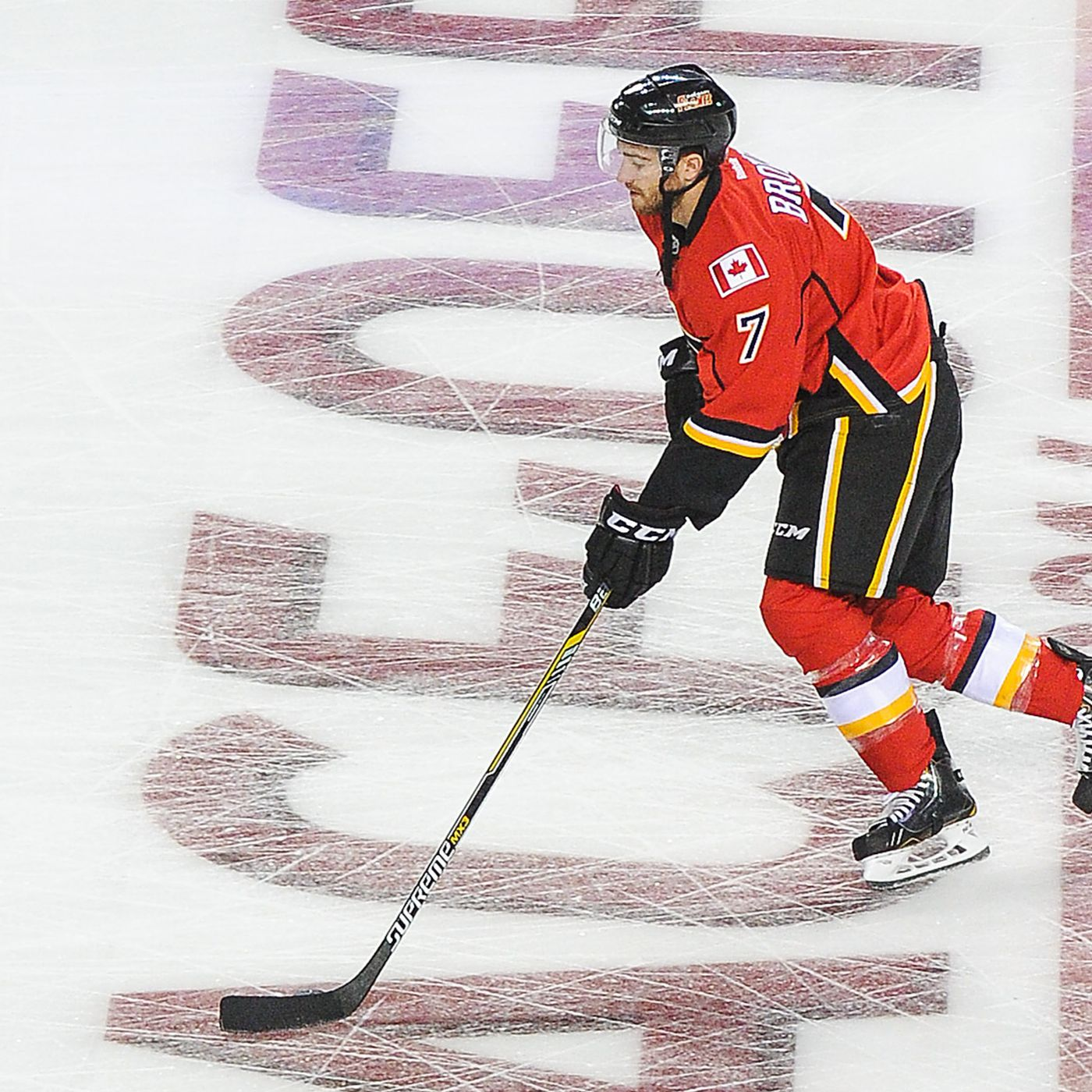 Flames Ink T J Brodie To Five Year Contract Extension Sbnation Com