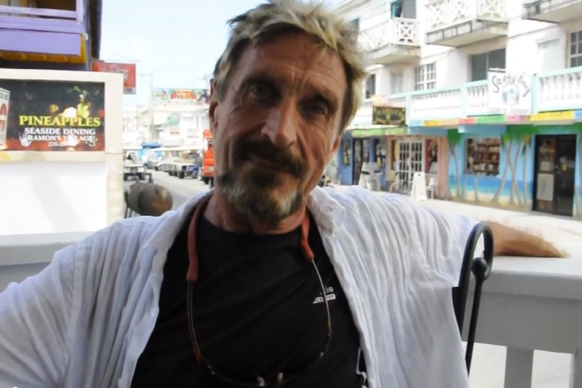 John McAfee: from part-time fugitive to drug-fueled kingpin - The Verge