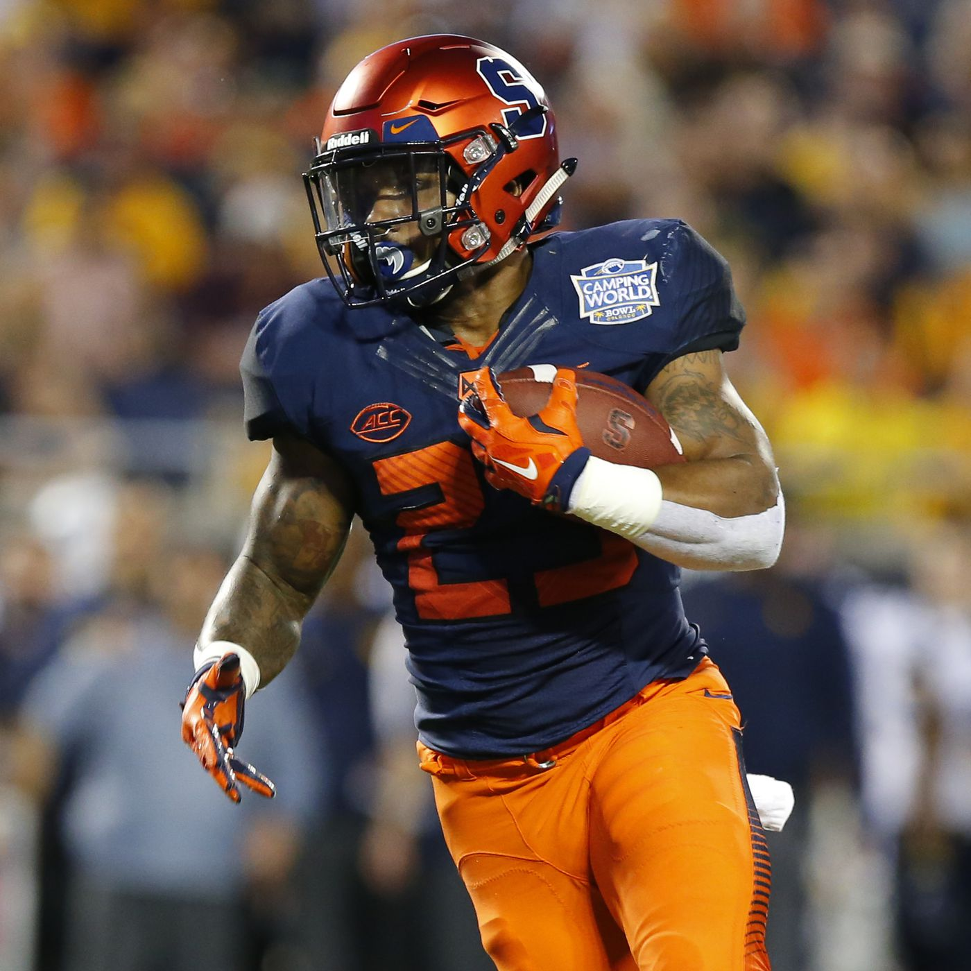 Syracuse Football Wearing Classic Home Uniforms Vs Clemson Troy Nunes Is An Absolute Magician