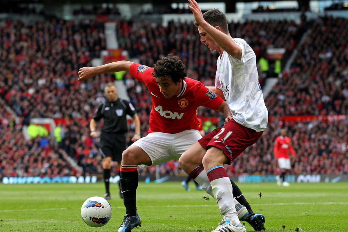 The marauding Rafael led all players with 96 touches on the ball.
