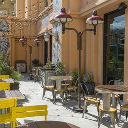 Libertine Social's patio