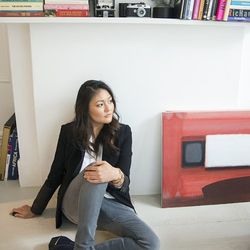 Jung Kim, photographer: shot at her apartment in Greenpoint