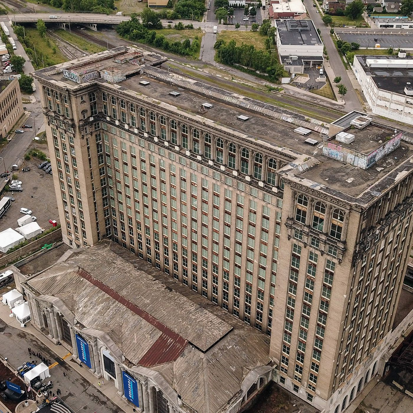 Inside Detroit's crumbling train station that Ford plans to ... on denver union station floor plans, fire station plans, bus station plans, police station plans, station track plans, railroad stations in virginia, warehouse plans, 30th st station plans, railway station plans, fort plans, hunting lodge plans, park plans, penn station plans, stadium plans, castle plans, train plans, windmill plans, ho scale station plans, community center plans, mosque plans,
