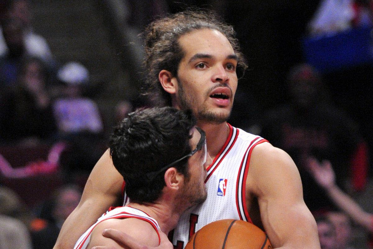 Joakim and Kirk share a moment.