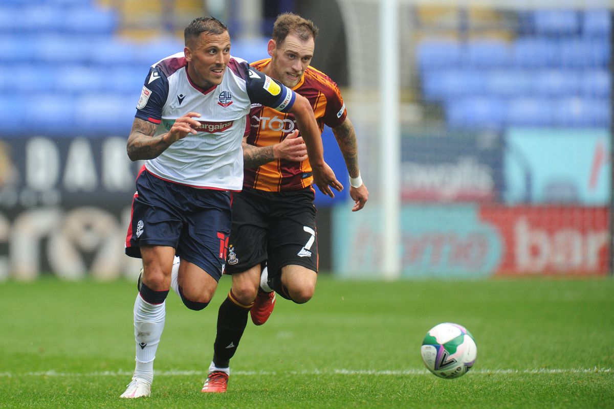Bolton Wanderers v Bradford City - Carabao Cup First Round