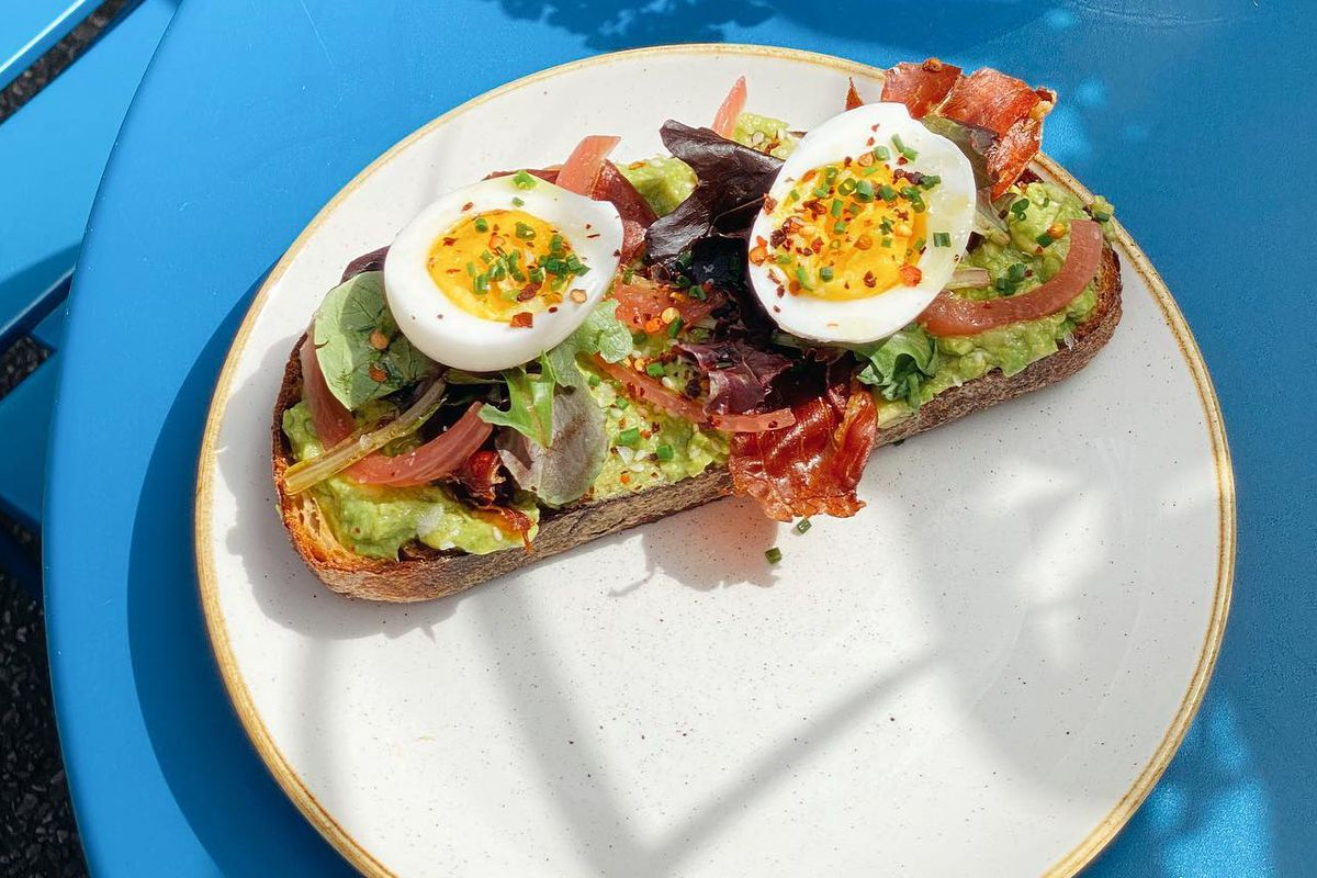 The avocado toast from Two Hands