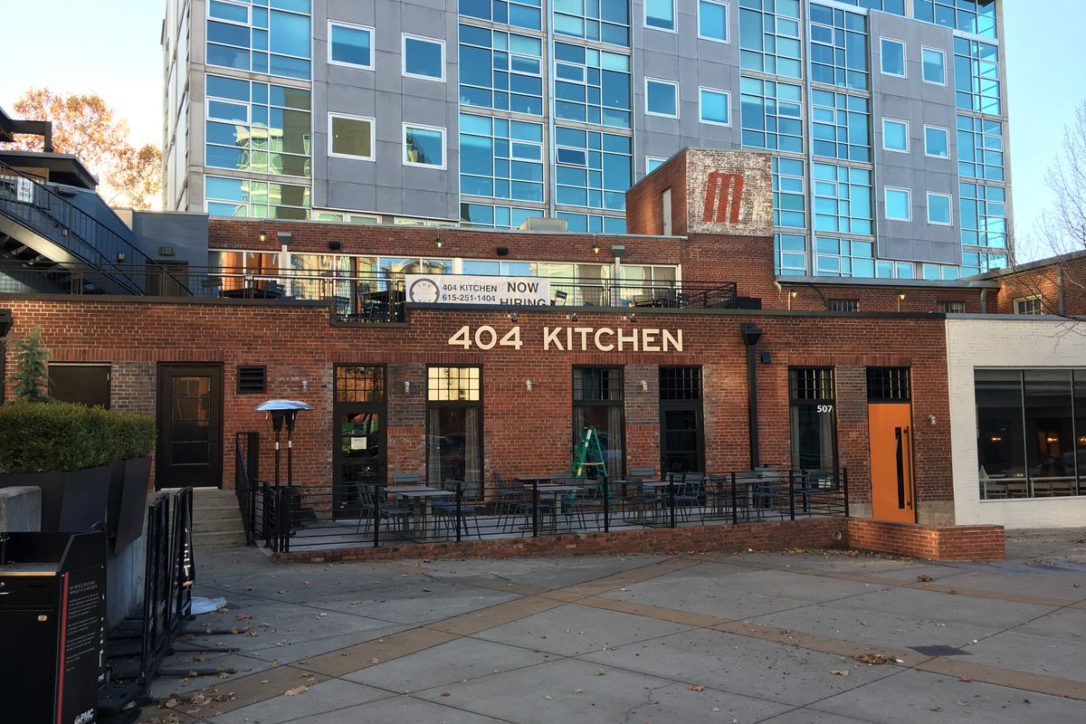 The 404 Kitchen Debuts Its New Digs Tomorrow Night Eater Nashville