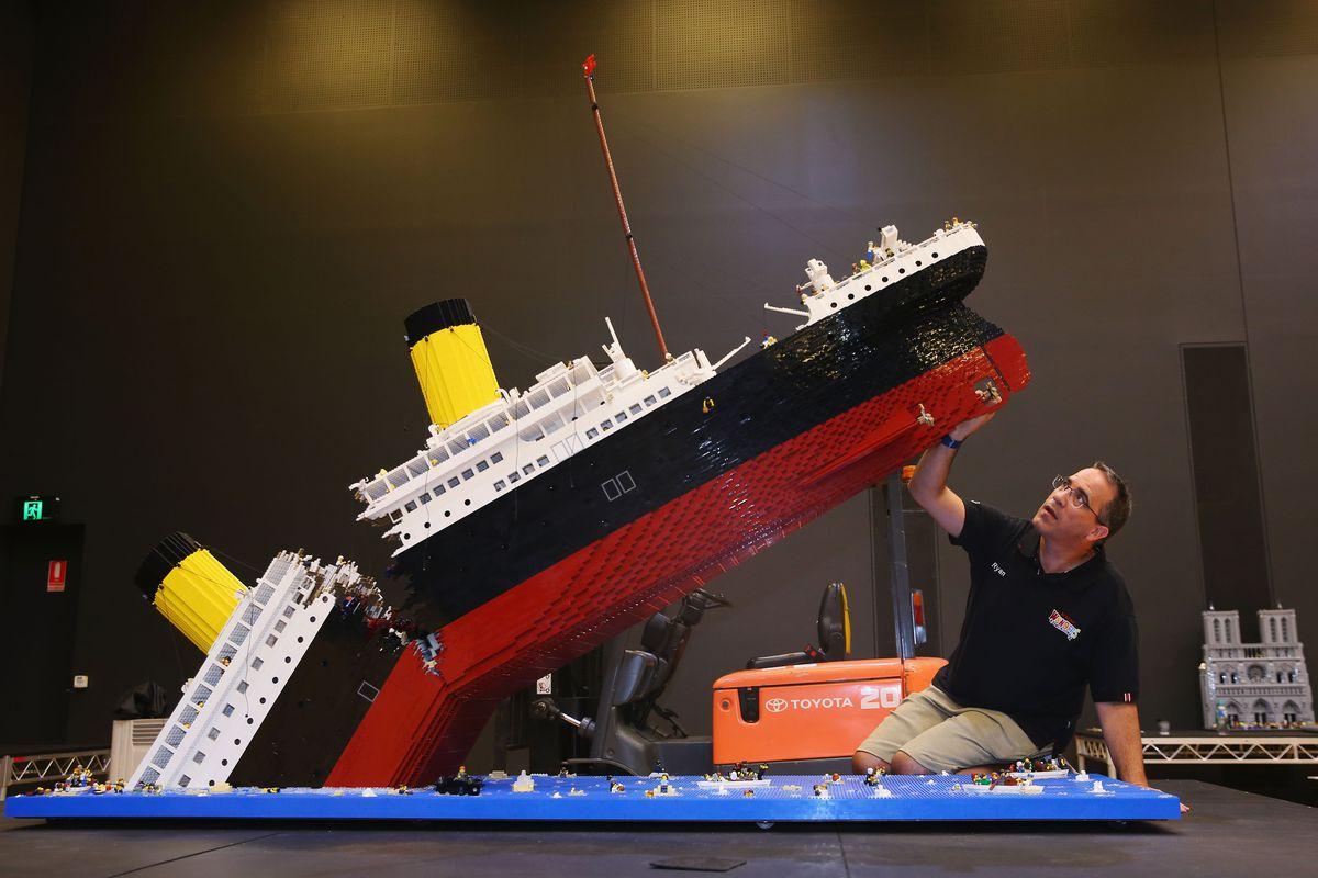 Lego Wonders of the World Exhibition