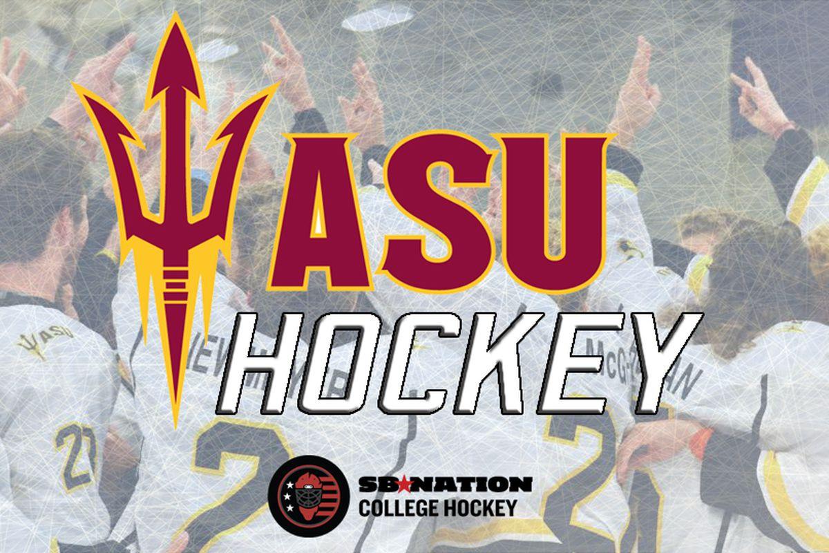 arizona state hockey (Matt Christians)