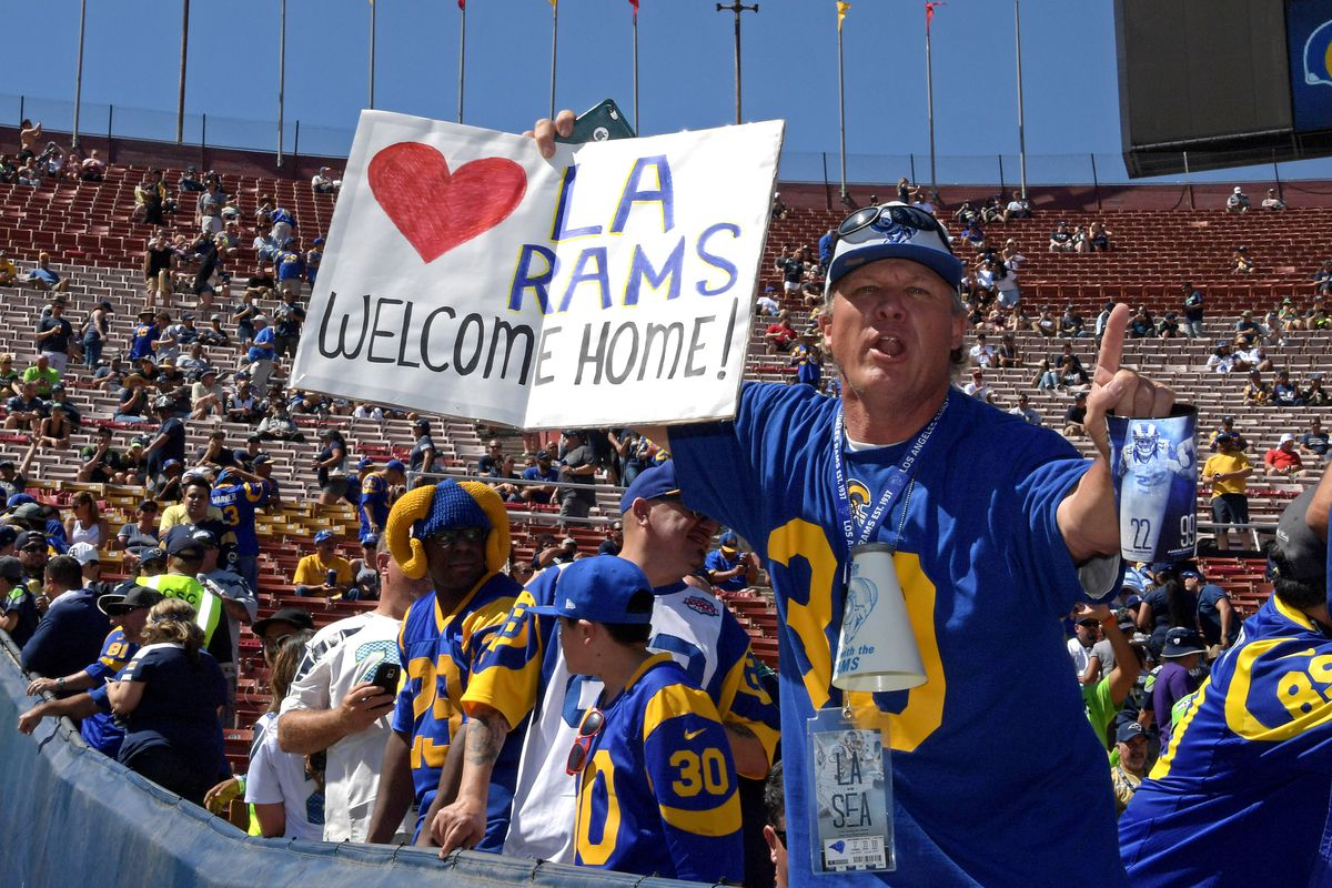 StubHub preview shows Los Angeles Rams are one of NFL's trendiest