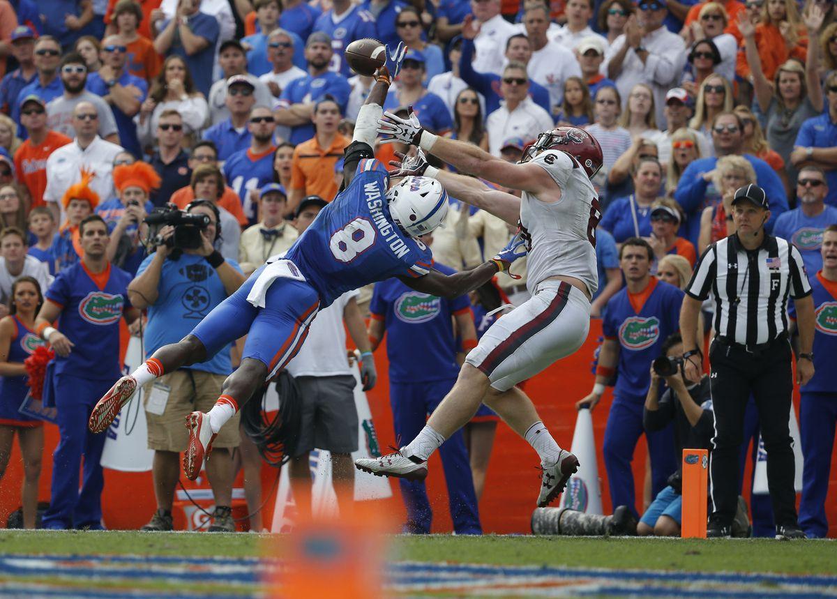 NCAA Football: South Carolina at Florida