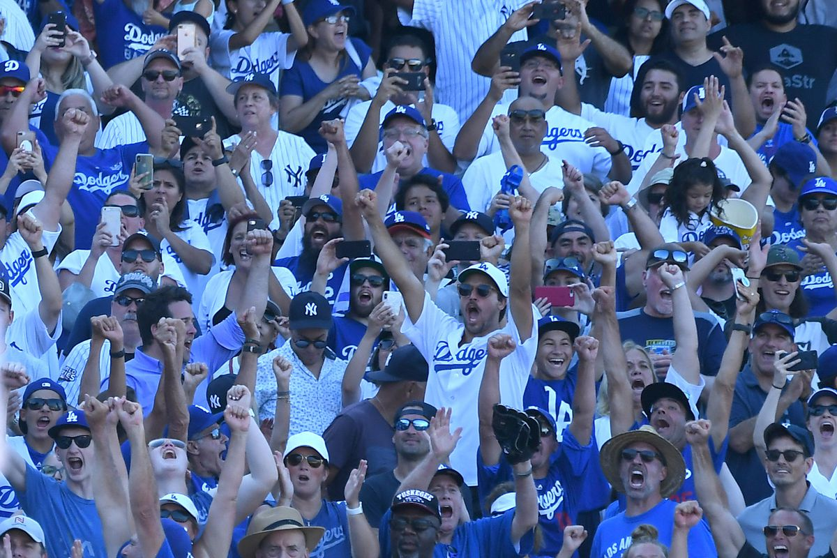 MLB: New York Yankees at Los Angeles Dodgers