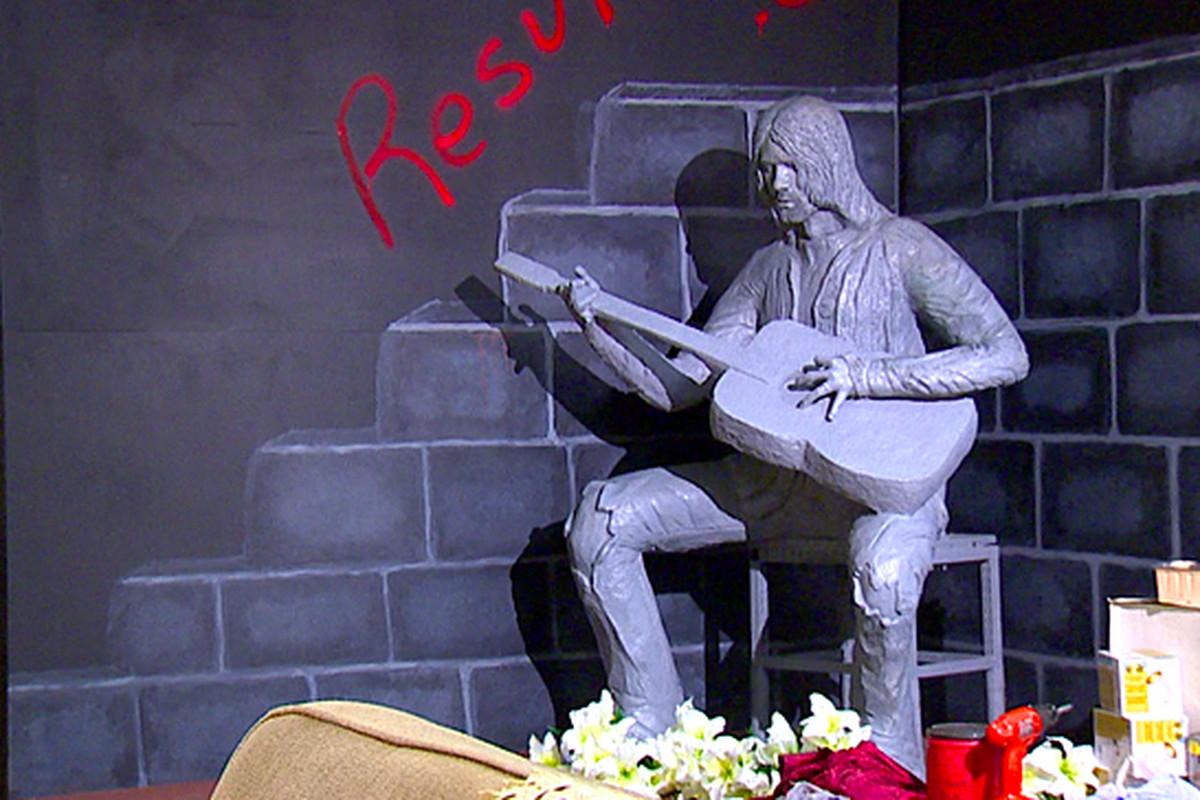 Kurt Cobain Aberdeen statue