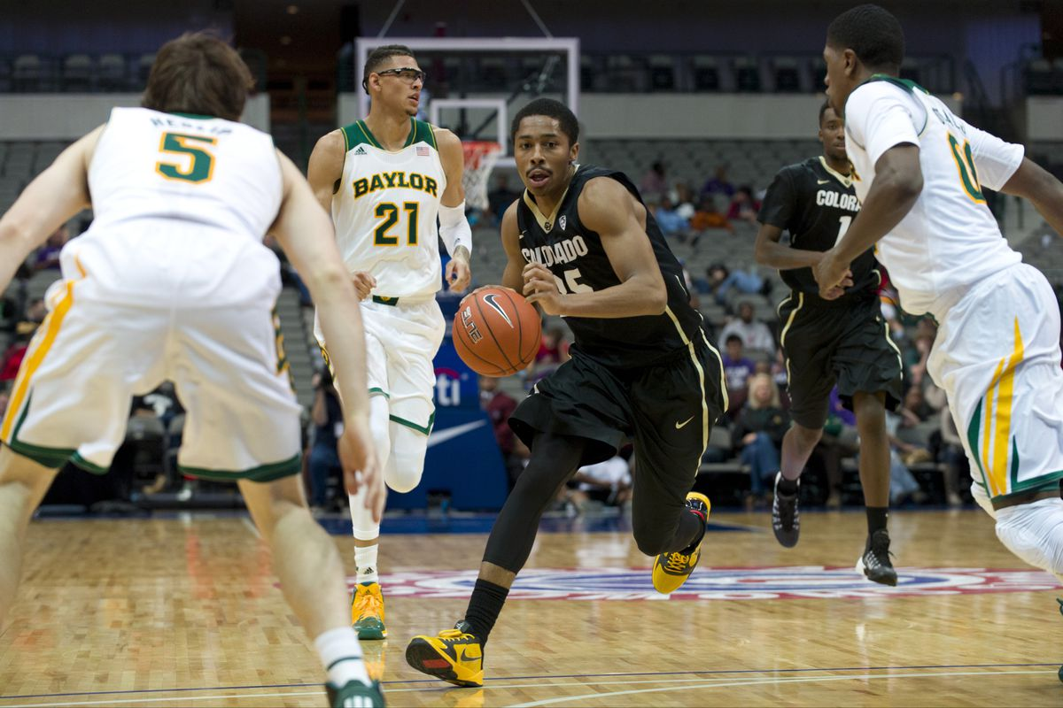 Spencer Dinwiddie didn't have his usual success only scoring 10 points in the Buffaloes' 72-60 loss to Baylor.