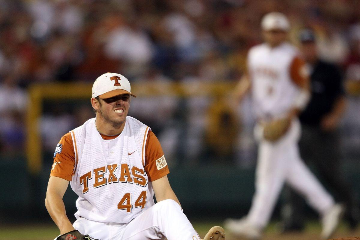 NCAA College World Series - LSU v Texas - Game Three