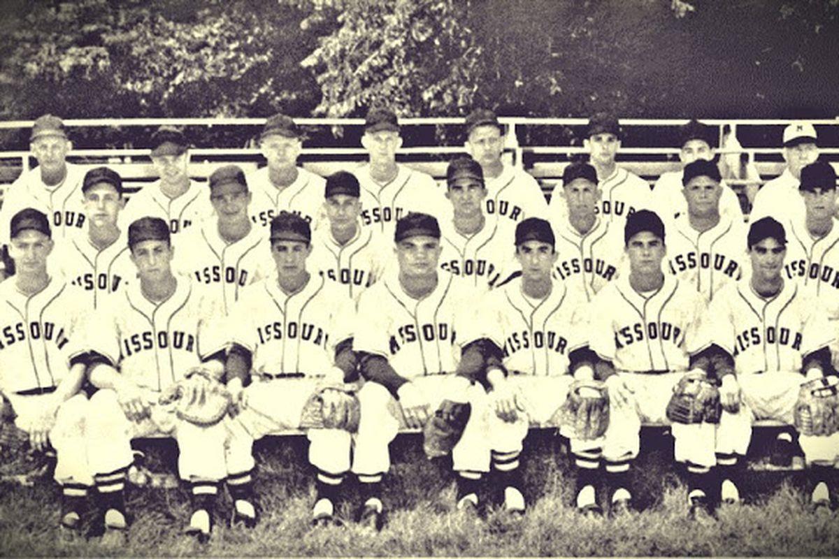 1954 Missouri Baseball Tigers