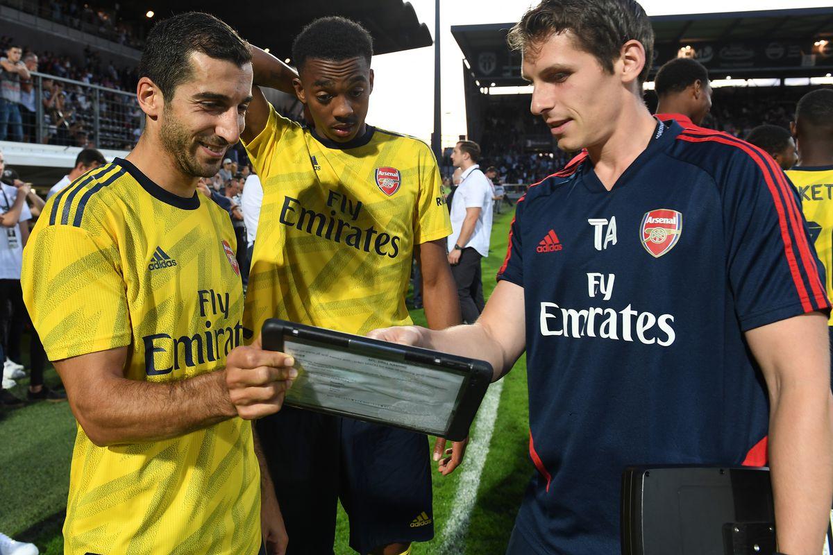 Angers v Arsenal Pre-Season Friendly