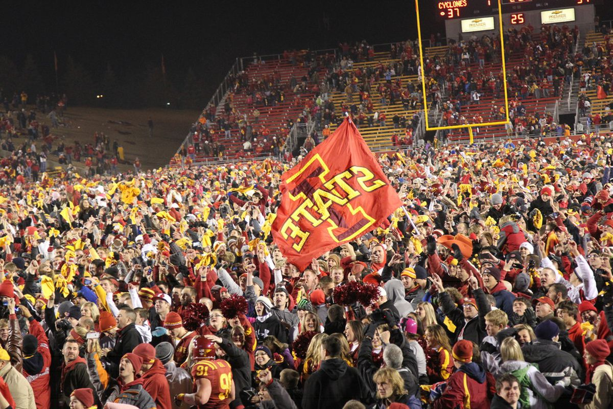 The last time an Oklahoma State team came to Ames, it was pretty neat.