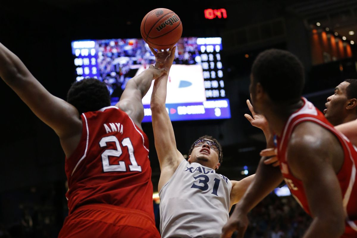 It was this kind of night for Xavier.