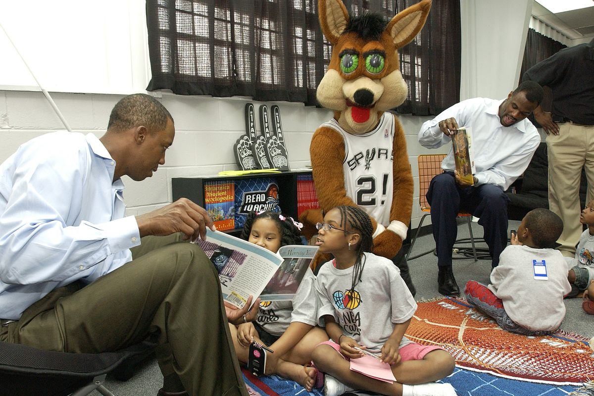 2007 NBA Finals Reading and Learning Center Event