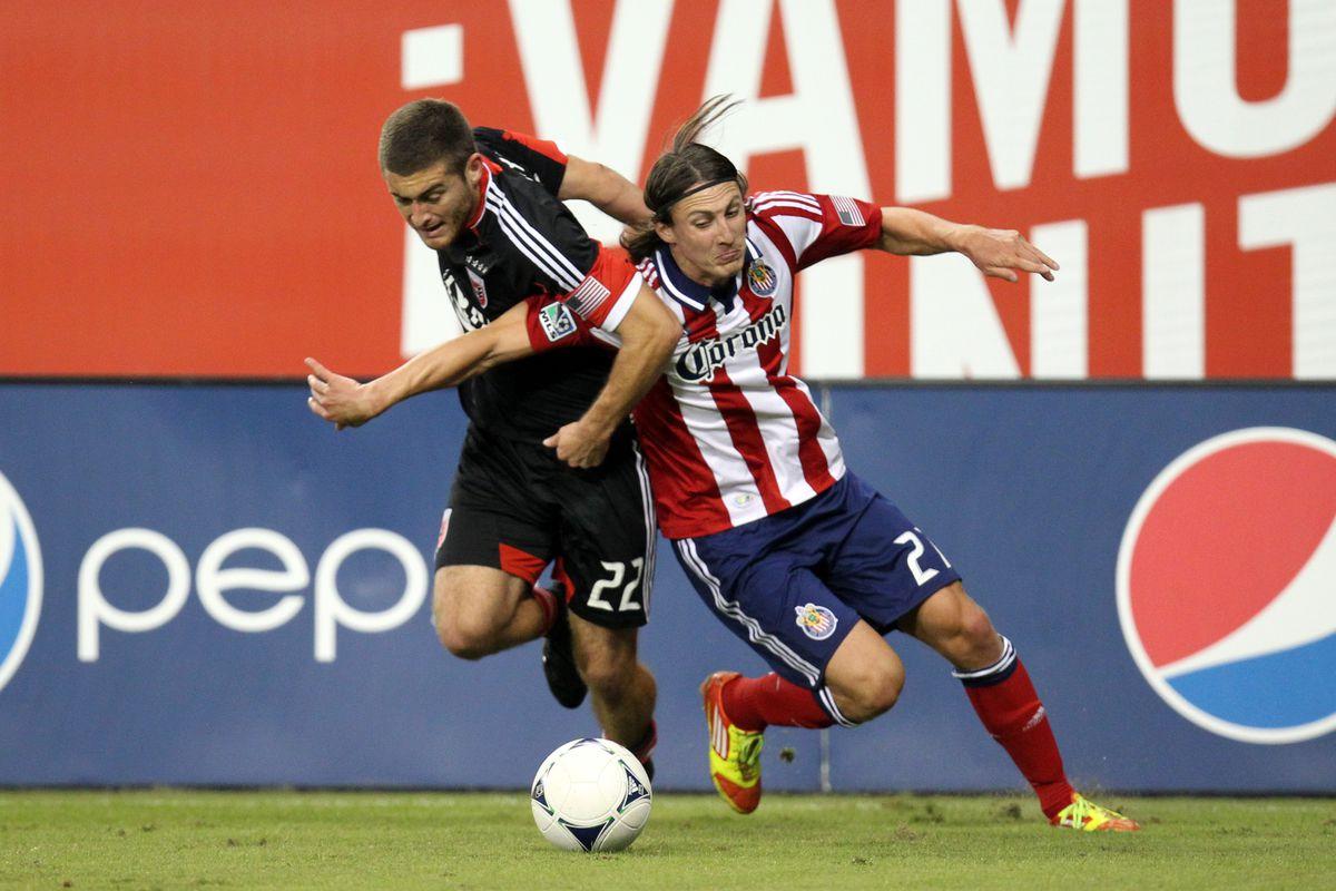 New Timber Ben Zemanski is part of the mass exodus from Chivas USA this off season.